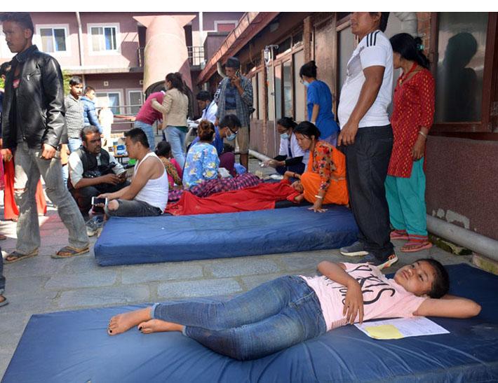 सिन्धुपाल्चोक दुर्घटना अपडेट : १२ को मृत्यु, ५० भन्दा बढी घाइते