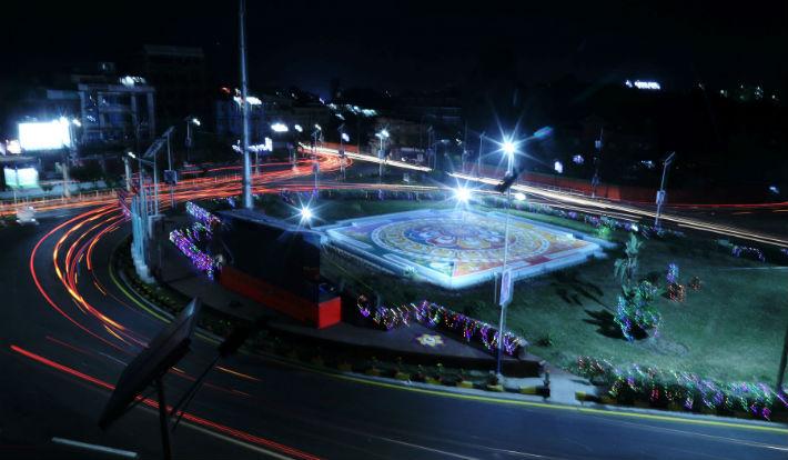 सीको स्वागतमा सिँगारिएको रातको काठमाडौं (फोटोफिचर)