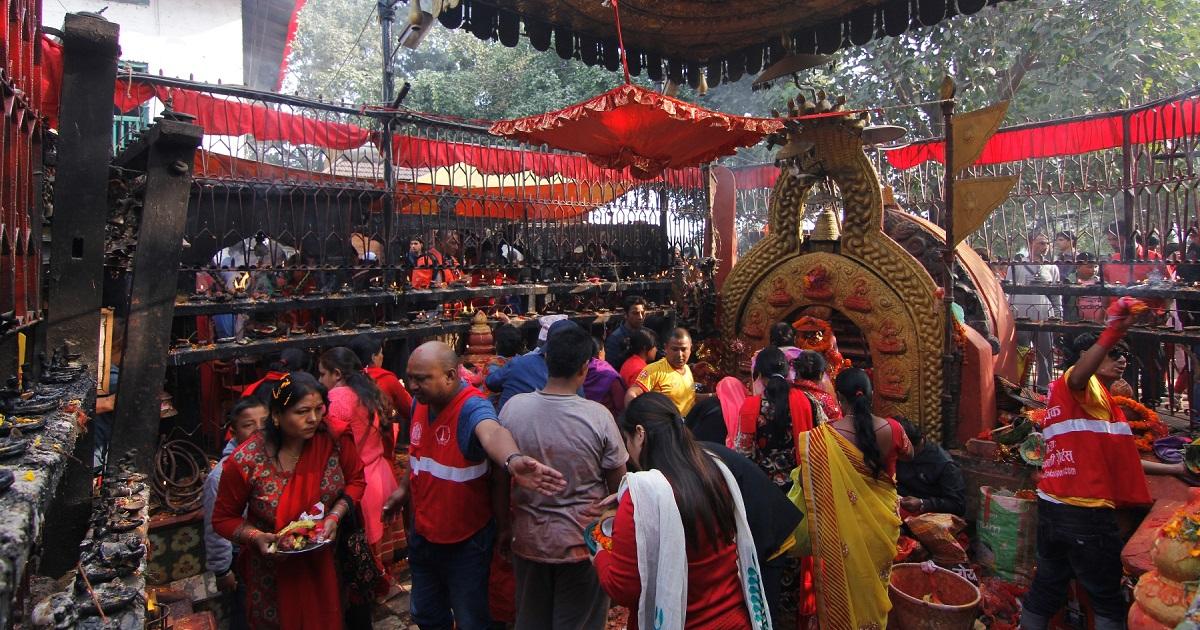आज दशैंको तेस्रो दिन:  माता चन्द्रघण्टाको पूजा आराधना गरिँदै