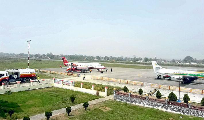 आजदेखि भद्रपुर विमानस्थल बन्द