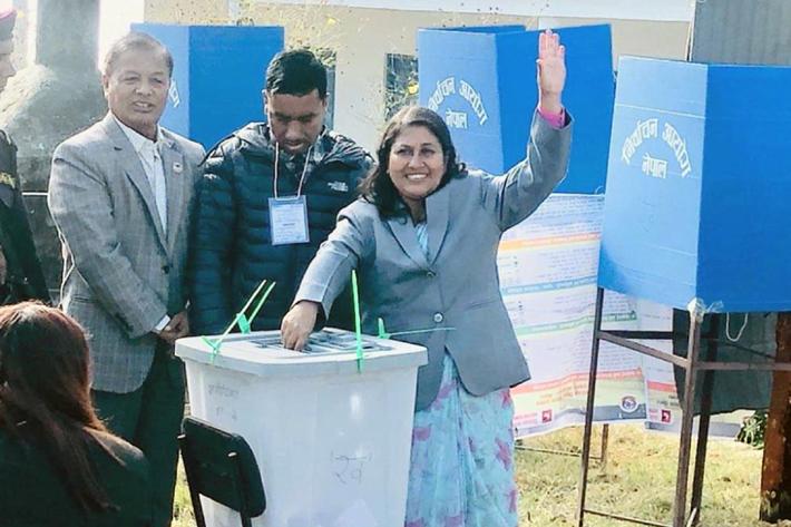 कास्की निर्वाचन सम्पन्न, मतगणना रातिबाट शुरु हुने