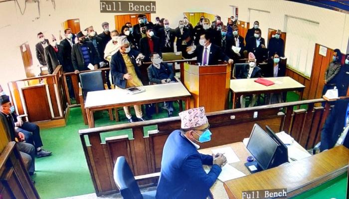 प्रतिनिधि सभा विघटन : सरकारी पक्षको बहस सकियो, सभामुखका तर्फबाट आइतबार बहस हुने