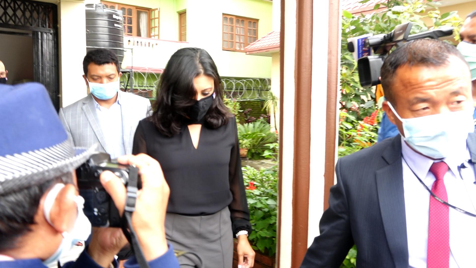 एमसीसीकी उपाध्यक्ष फातिमा बसेको मेरियट होटलमै पुग्यो स्वागत नेपालको टोली