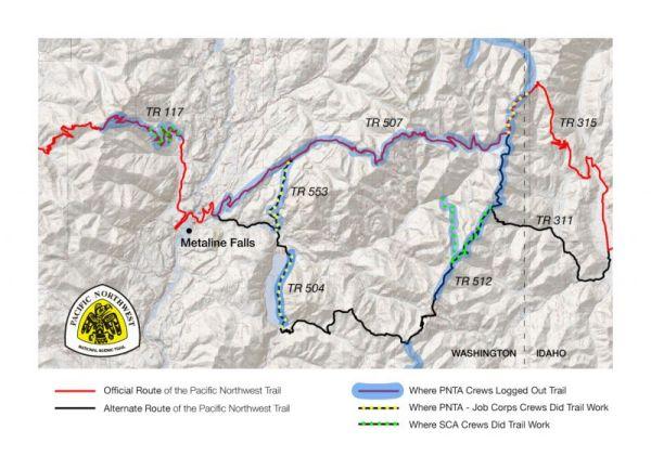 Trail Work - Colville NF