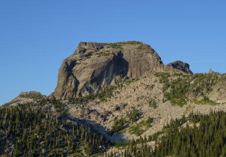 The Lions Head in the Selkirk Mountains.