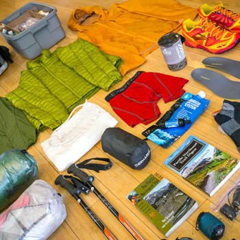 Prepare for a PNT thru-hike