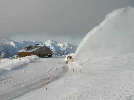 Hurricane Ridge in Winter