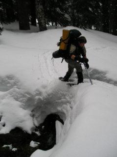 Crossing a Snowbridge