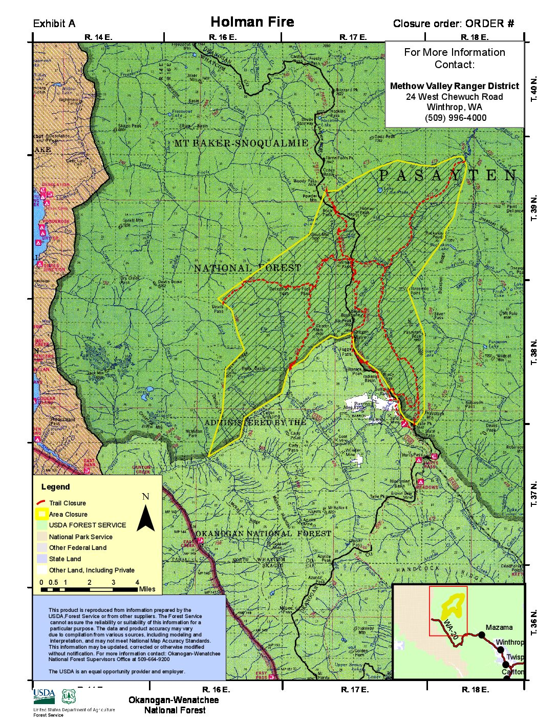 Trail Alerts Pacific Northwest Trail Closures And Conditions