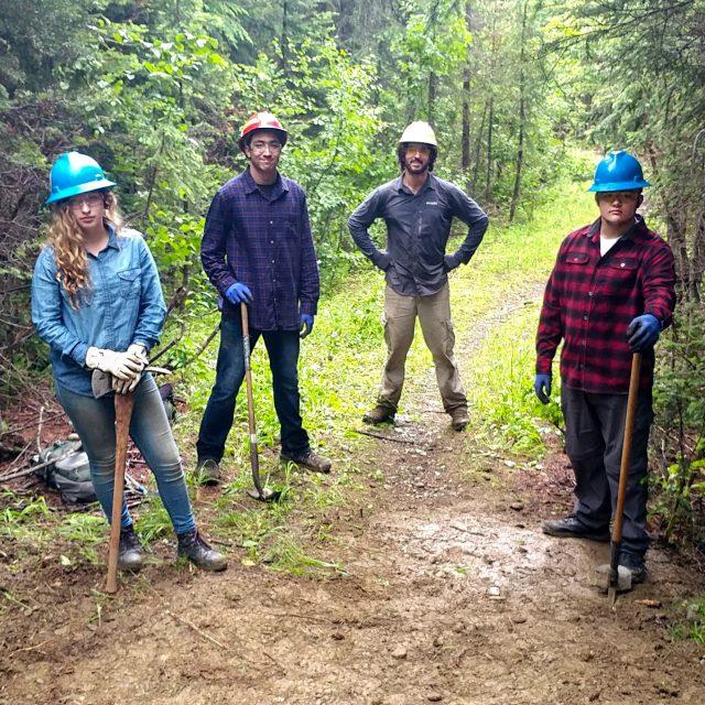 2019 Eastern Washington Trail Crew - Pacific Northwest Trail Association