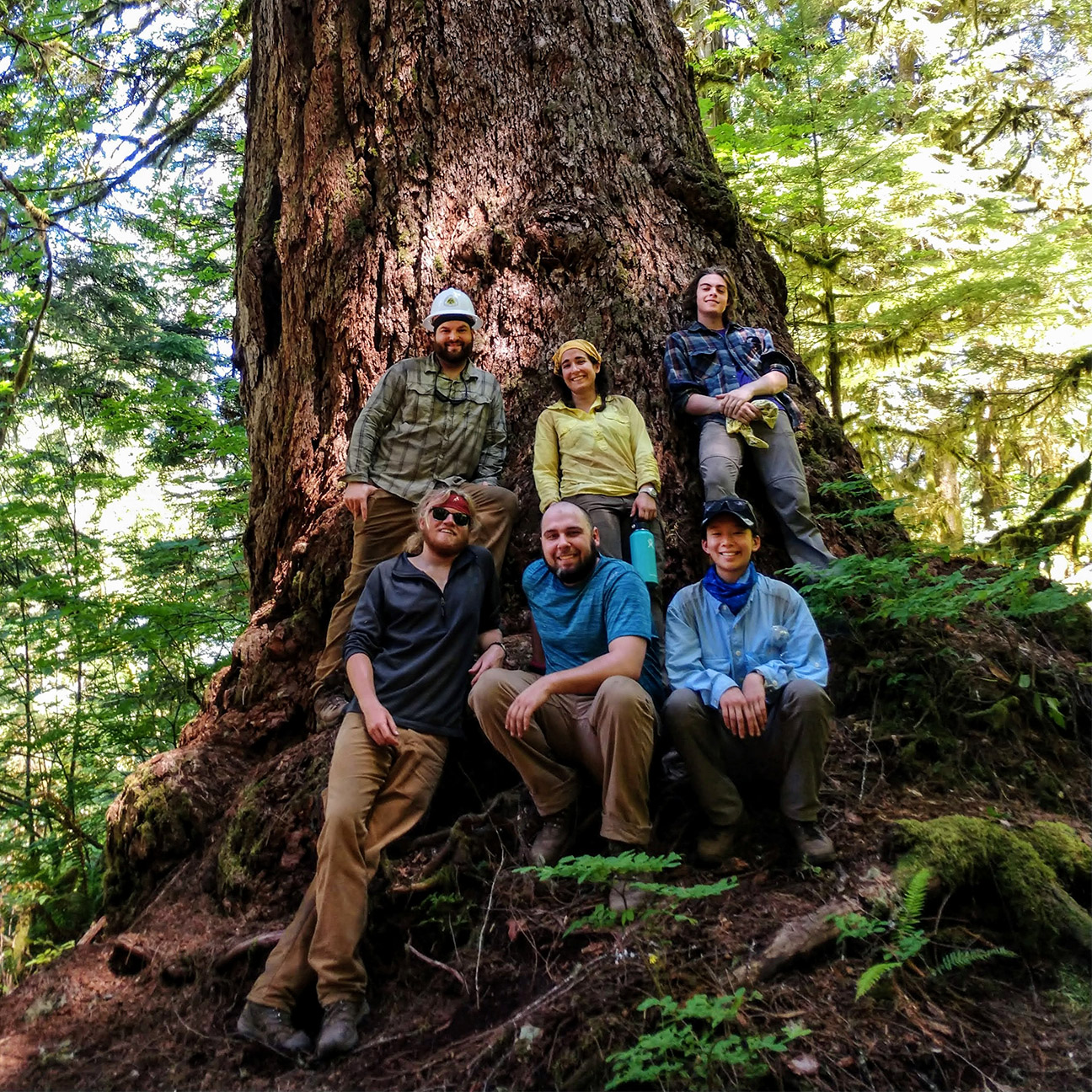 2019 North Cascades Trail Crew - Pacific Northwest Trail Association