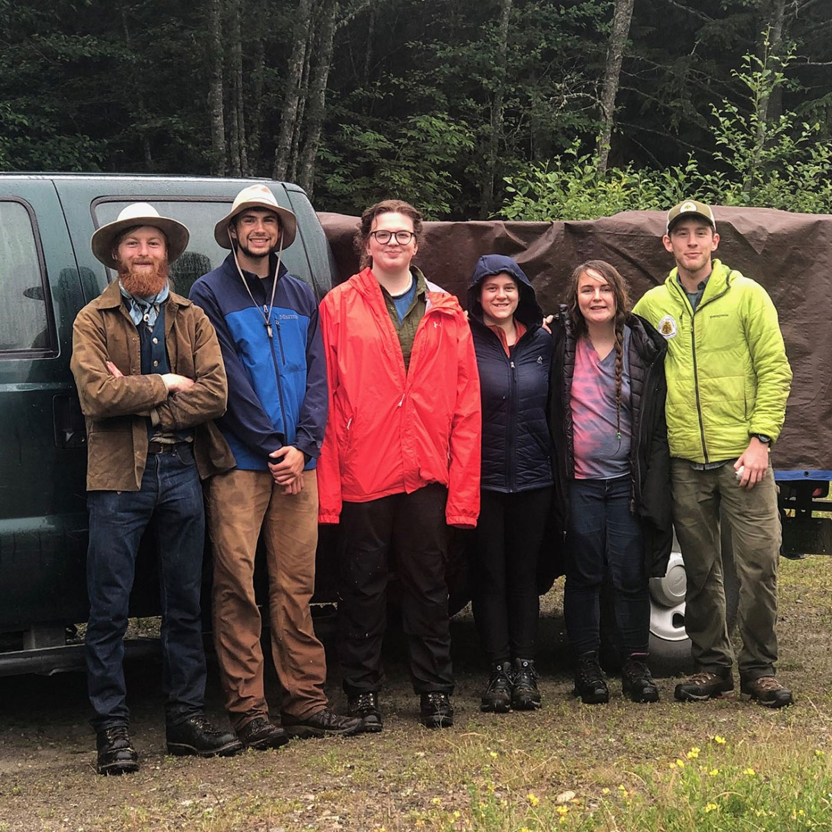 2019 Olympic Trail Crew - Pacific Northwest Trail Association
