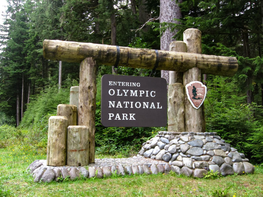 Welcome to Olympic National Park by Ken Lund is licensed under CC BY-SA 2.0