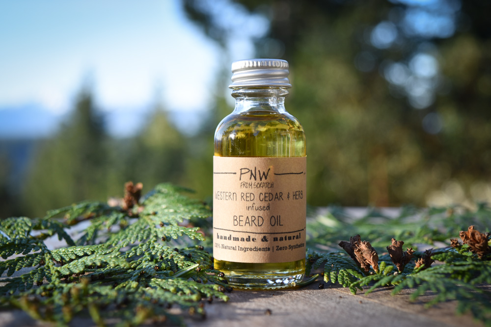No time for DIY? Get our Cedar & Herb infused Hair Treatment and Beard Oil here!