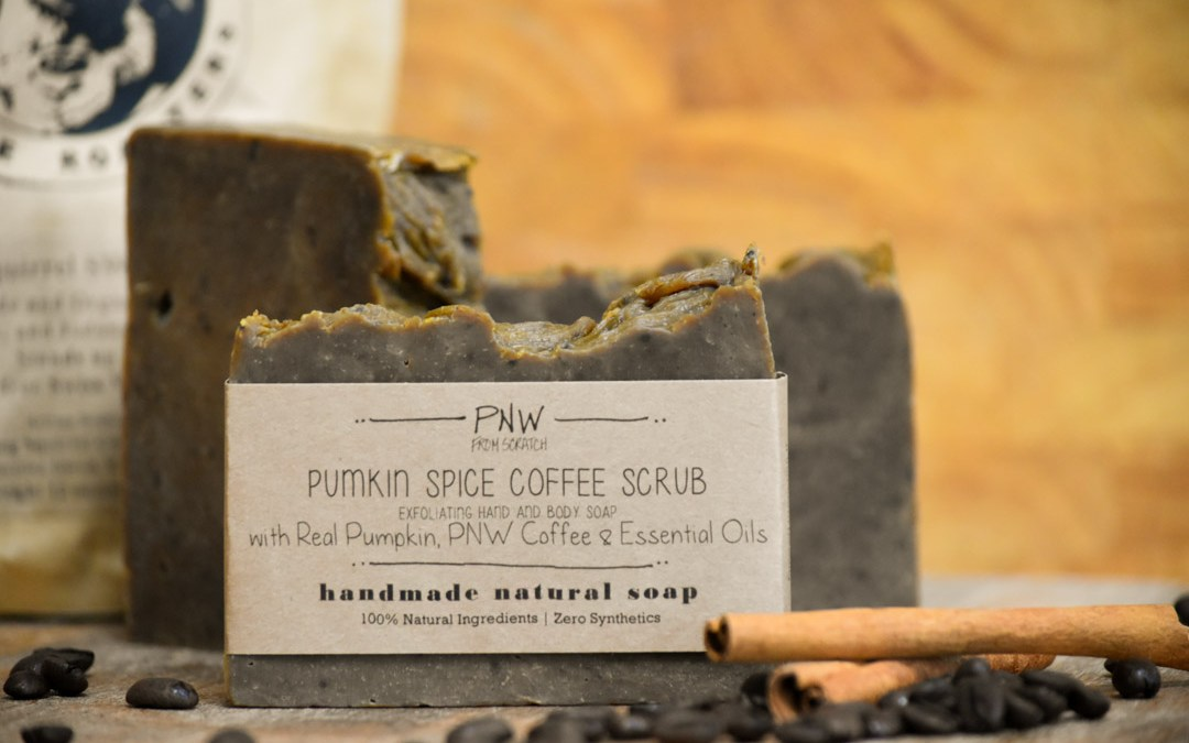 Pumpkin Spice Coffee Scrub Soap – FALL GIVEAWAY!