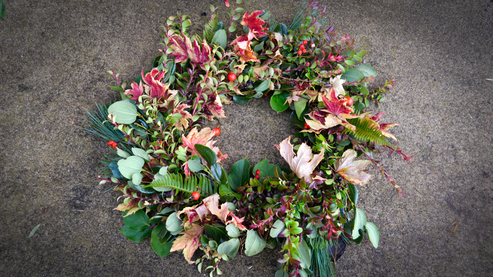How to Make a Wreath – Holiday / Spring / Fall / Anytime Wreath DIY
