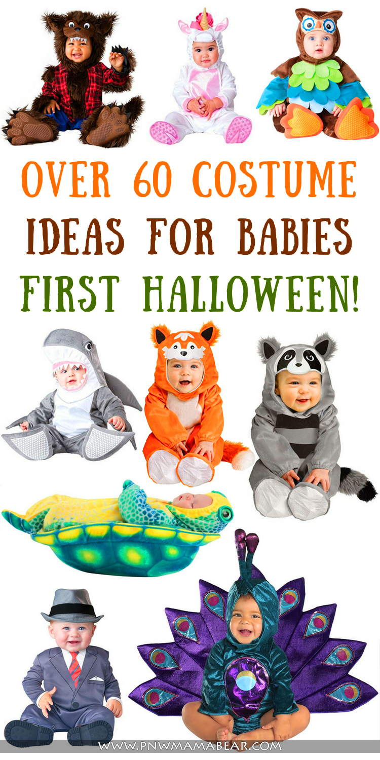 over 60 costumes for baby's first halloween! - pnw mama bear