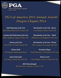 2014 Oregon Award Winners