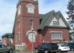 Kalavaria UMC is housed in a building that once housed Trinity UMC in Tacoma, WA. Photo from TacomaConnect.com.