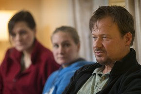 Frank Schaefer talks about what his family has been through since he was charged with violating his ministerial credentials when he officiated at his son Tim's marriage in 2007. Photo by Mike DuBose, UMNS.