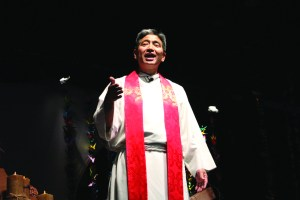 The Rev. Derek Nakano of Blaine Memorial UMC.