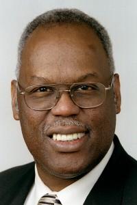 Bishop Warner H. Brown Jr.. A photo by Mike DuBose, UMNS