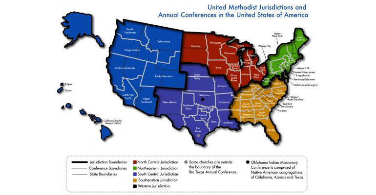 GC2016 Remaking the denominations map Pacific Northwest UMC