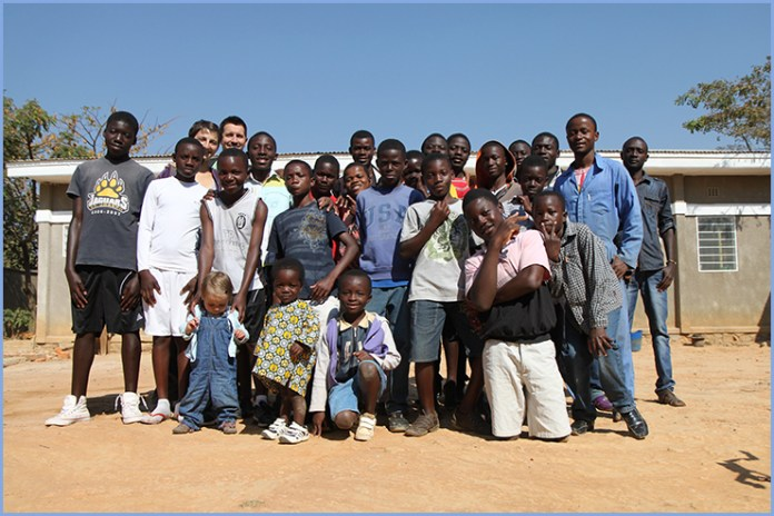 The boys and young men of Jamaa Letu Orphanages