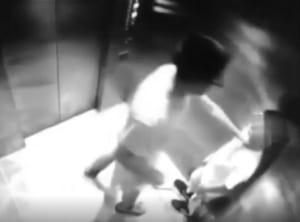 【動画】陰キャ、エレベーターで小学生をボコる