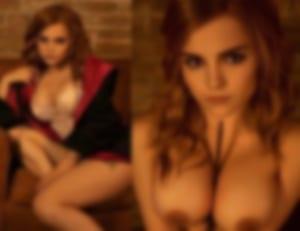 【画像】エマ・ワトソンに世界一似てる美女のヌードがこちらwwwww