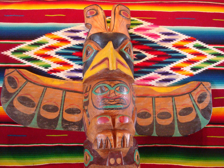 Native American Indian And Navajo Folk Art And Beadwork At