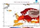 Klimatický výhled na únor 2020, model CFS