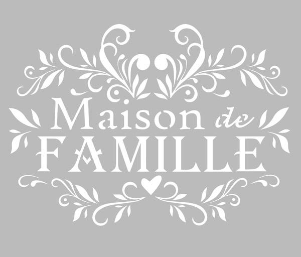 Maison Tapis Moquettes Jvl Maison De Famille Personnalise Custom Pochoir Imprime Coco Porte Mat 40x70cm