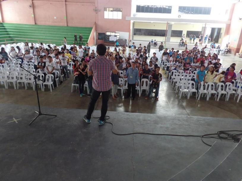 The VoiceMaster in EVSU Ormoc City