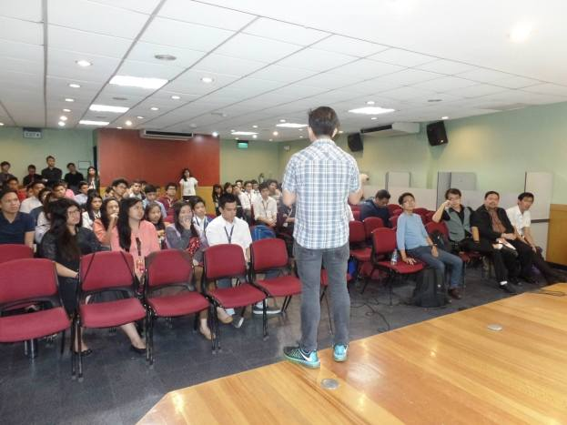 The VoiceMaster Speaks at iMarketing Seminar in Mapua