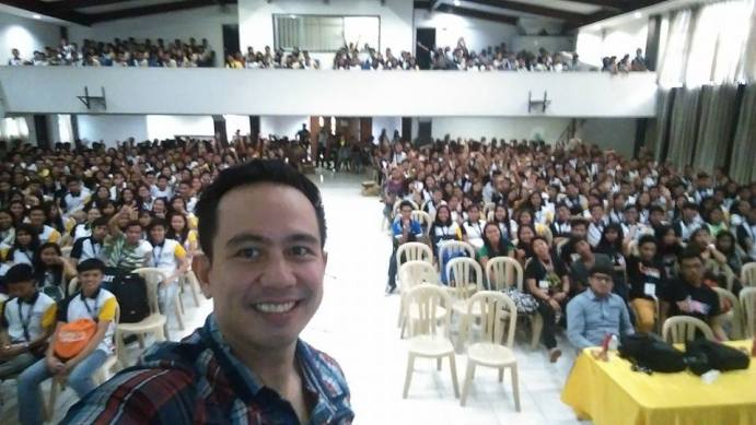 The VoiceMaster Speaks at the 6th BYCIT in Camarines Sur