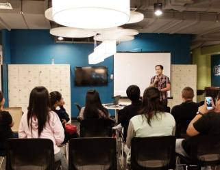 Filipino motivational speaker talks about the power of the voice