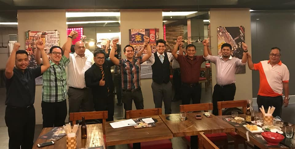 Makati Jaycees welcome incoming president Pocholo Gonzales