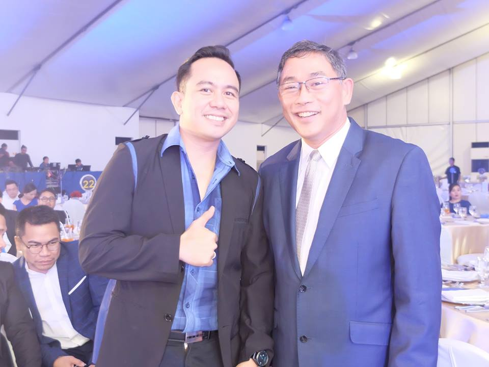 The VoiceMaster with AGSB Dean Rodolfo Ang