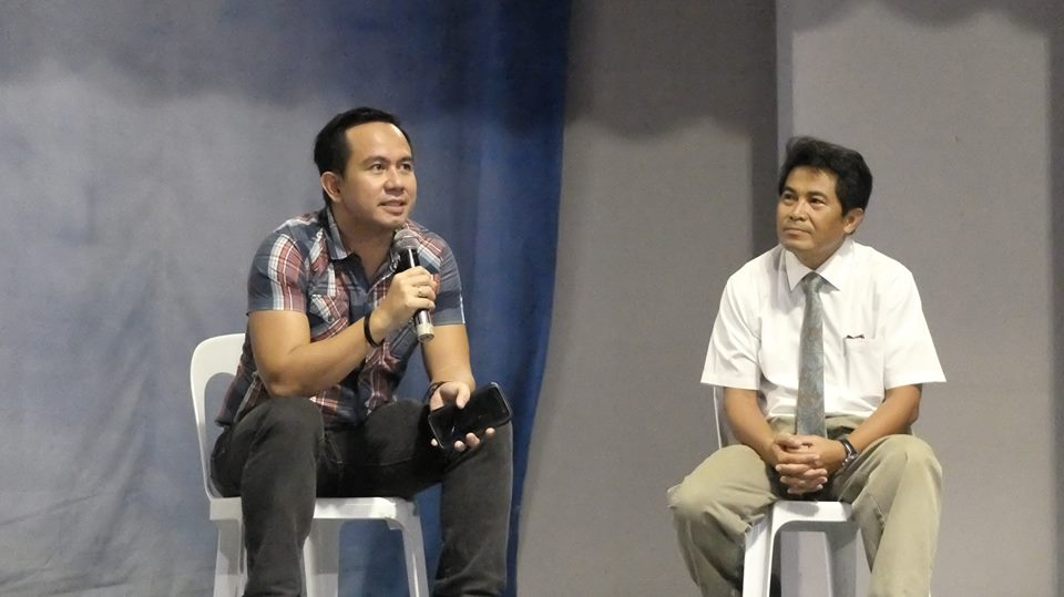 Open Forum with the Filipino motivational speaker Pocholo Gonzales