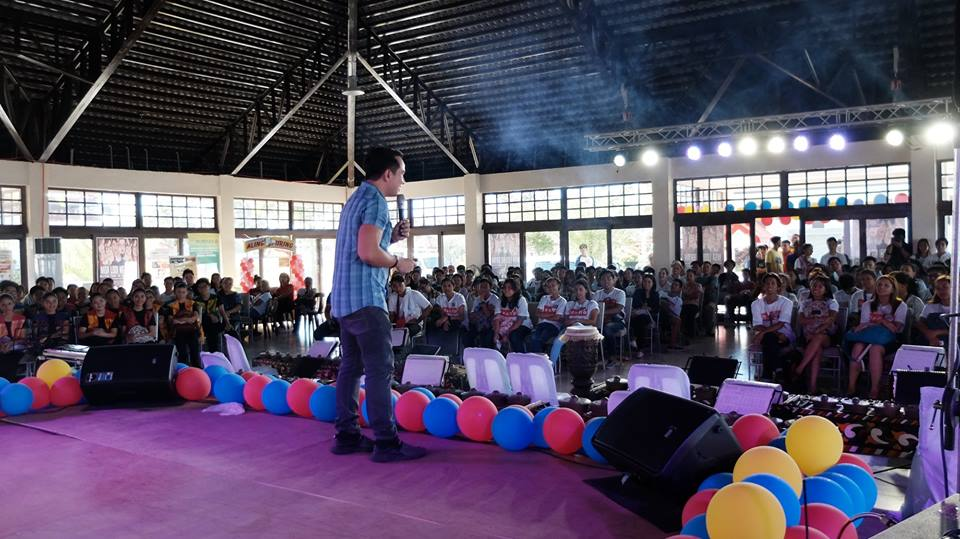 The VoiceMaster inspires young leaders of Cabuyao Laguna