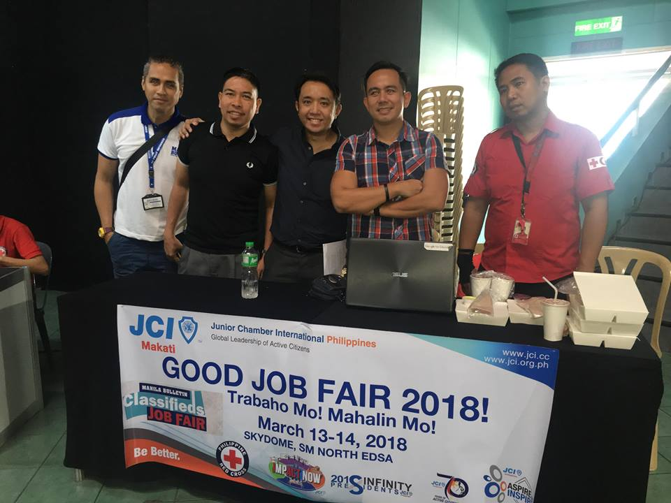 JCI Makati partners with Manila Bulletin for Job Fair seminar
