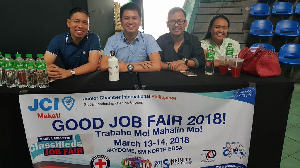 Manila Bulletin Job Fair speakers from JCI Makati