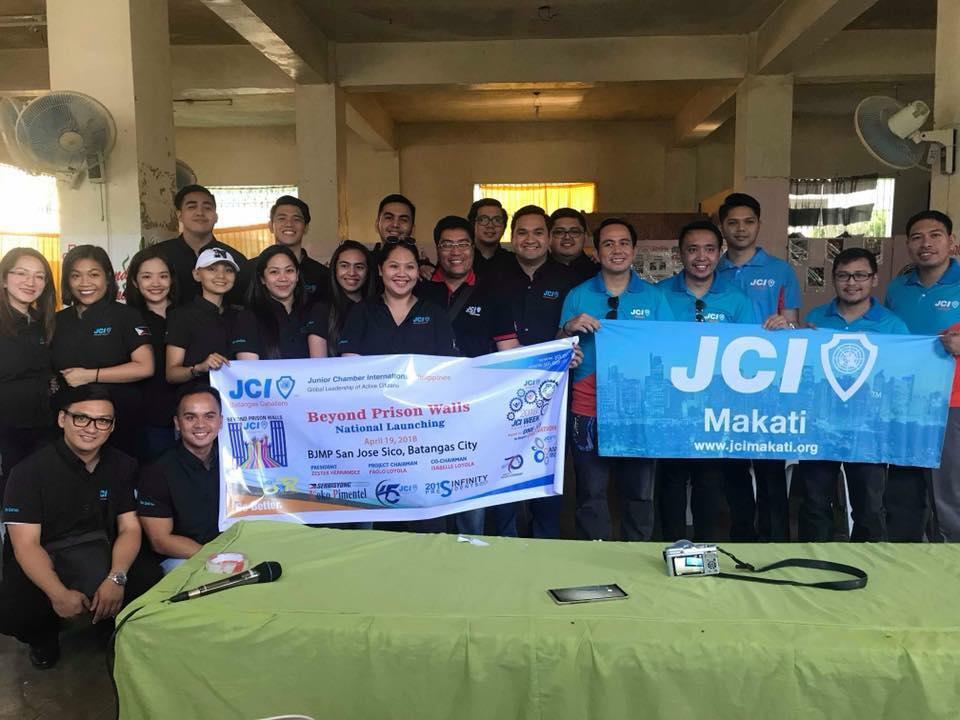 JCI Makati with JCI Caballero