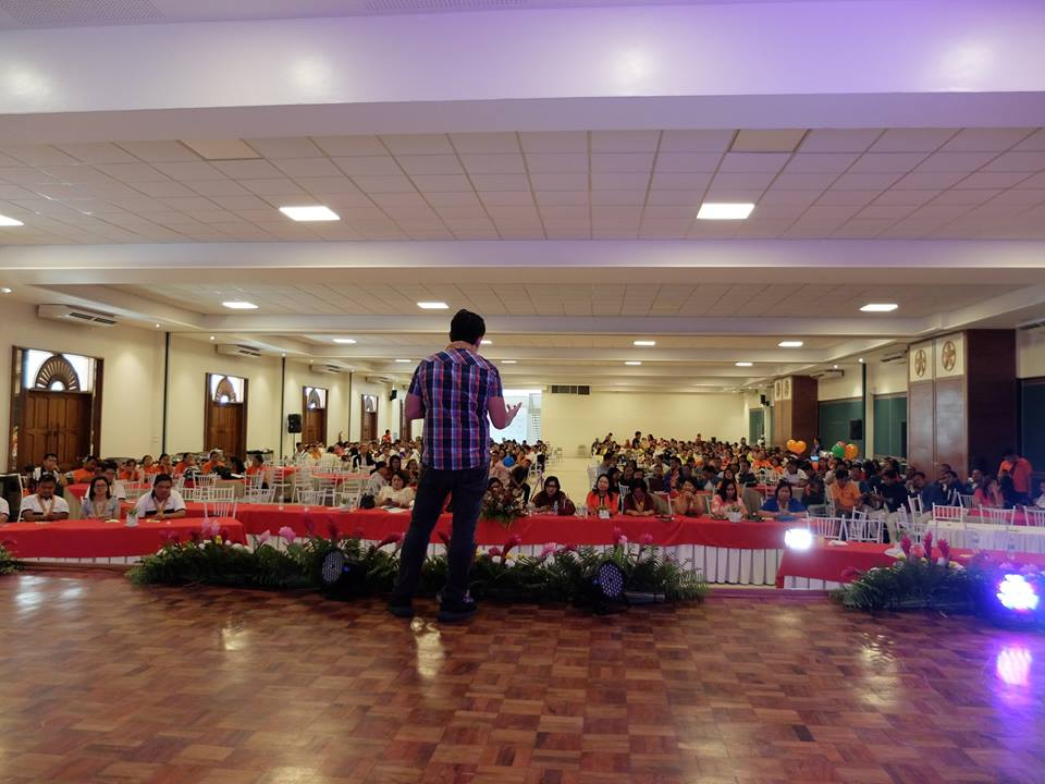 The VoiceMaster speaks about financial wellness in DepEd Caraga 23rd Anniversary
