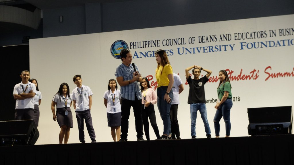 The VoiceMaster invited students to showcase their talent to the audience
