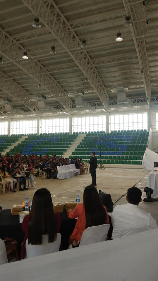 The VoiceMaster Speaks about Millennial Entrepreneurship in Gumaca Quezon