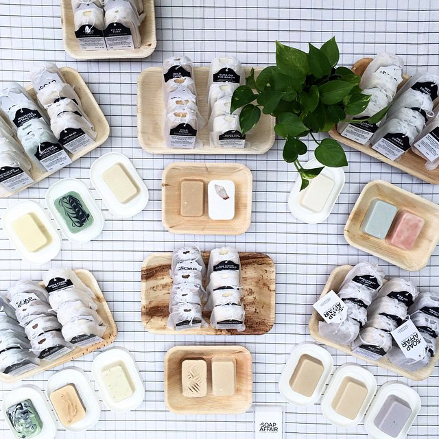 We certainly don't mind starting an affair these luscious soaps. Photo credit: A Soap Affair