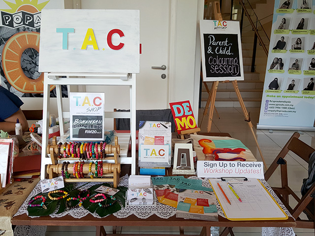 T.A.C at She's the BOSS - A Women - Moms In Business Bazaar