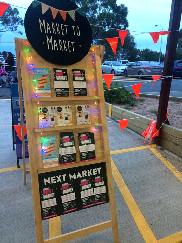 Twilight Market - An excuse to stay outdoors in freezing weather